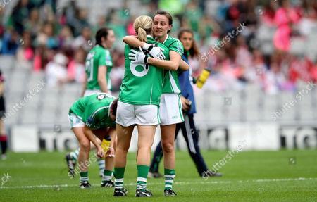 Editorial photo of TG4 Ladies Junior All-Ireland Football Championship Final, Croke Park, Dublin  - 24 Sep 2017