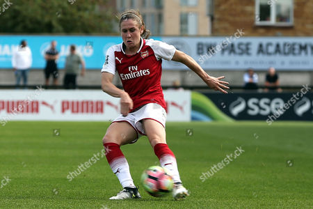 Heather O'Reilly of Arsenal women during Arsenal Women vs Birmingham City Ladies, FA Women's Super League FA WSL1 Football at Meadow Park on 24th September 2017