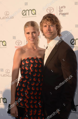 Stock Photo of Sarah Wright, Eric Christian Olsen