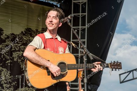 Pokey LaFarge performs at the Pilgrimage Music and Cultural Festival, in Franklin, Tenn