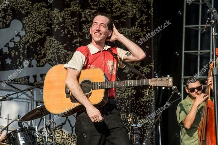 Stock Picture of Pokey LaFarge performs at the Pilgrimage Music and Cultural Festival, in Franklin, Tenn