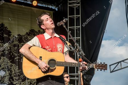 Stock Photo of Pokey LaFarge performs at the Pilgrimage Music and Cultural Festival, in Franklin, Tenn