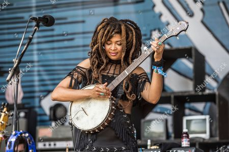 Valerie June performs at the Pilgrimage Music and Cultural Festival, in Franklin, Tenn