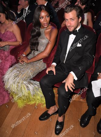 Naomi Campbell and Francesco Carrozzini