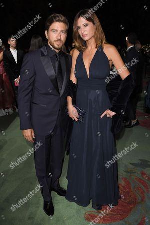 Alessandro Roja and Claudia Ranieri