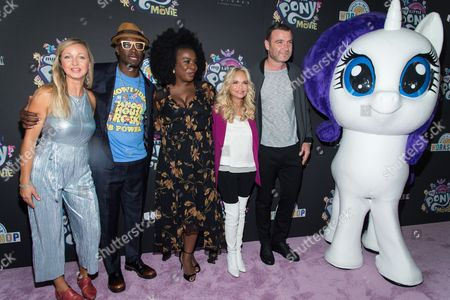 Editorial image of 'My Little Pony: The Movie' film special screening, New York, USA - 24 Sep 2017