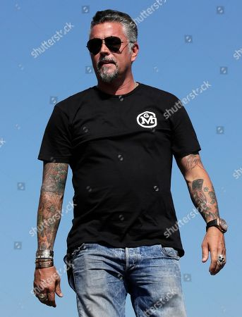 Stock Photo of Television personality Richard Rawlings is introduced prior to the NASCAR Cup Series 300 auto race at New Hampshire Motor Speedway in Loudon, N.H