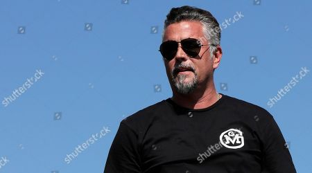 Stock Picture of Television personality Richard Rawlings is introduced prior to the NASCAR Cup Series 300 auto race at New Hampshire Motor Speedway in Loudon, N.H