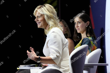 Laura Brounstein (Director, Editorial and Business Development, Cosmopolitan and Seventeen), Emily Steel (Media Journalist, The New York Times), Gretchen Carlson (Acclaimed TV Journalist and Women?s Empowerment Advocate)