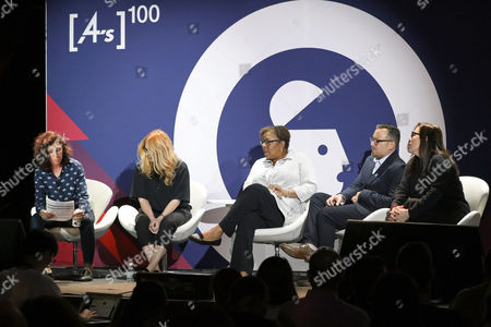Hannah Fishman (Executive Creative Director, DDB), Justine Armour (Group Creative Director, andSunny), Donna Pedro (Worldwide Chief Diversity and Inclusion Officer, Ogilvy and Mather), Paul Marcarelli (Actor and Spokesperson, Sprint), Andrea Diquez (New York, CEO, Saatchi and Saatchi)