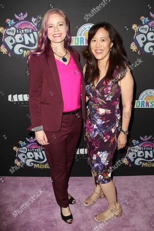 Meghan McCarthy and Rita Hsiao (Screenwriters)