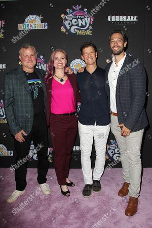 Stephen Davis (Producer), Meghan McCarthy (Writer), Brian Goldner and Josh Feldman