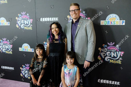 Editorial image of New York Special Screening of 'MY LITTLE PONY', USA - 24 Sep 2017