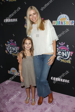 Stock Photo of Aviva Drescher and Sienna Drescher