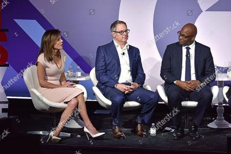 Bethenny Frankel (CEO and Founder, Skinnygirl), Rick Welday (President, ATandT AdWorks), Frank Cooper III (CMO, BlackRock)