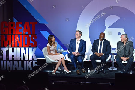 Editorial photo of CEO Connectors seminar, Advertising Week New York 2017, PlayStation East Stage, PlayStation Theater, New York, USA - 26 Sep 2017