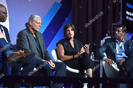 Editorial image of CEO Connectors seminar, Advertising Week New York 2017, PlayStation East Stage, PlayStation Theater, New York, USA - 26 Sep 2017