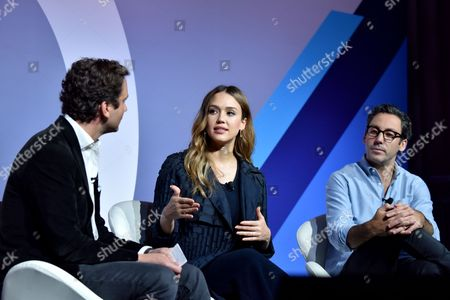 Editorial picture of Building a Brand in a Mobile First World seminar, Advertising Week New York 2017, PlayStation East Stage, PlayStation Theater, New York, USA - 26 Sep 2017
