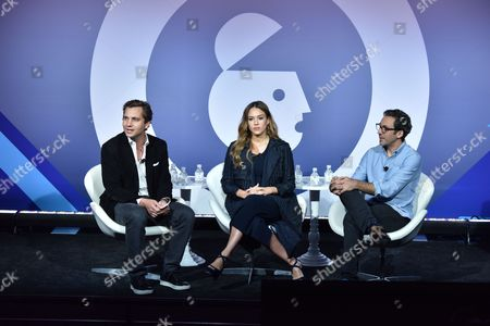 Harry Kargman (Founder and CEO, Kargo), Jessica Alba (Founder, The Honest Company), Neil Blumenthal (Co-Founder and Co-CEO, Warby Parker)