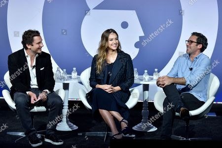 Editorial image of Building a Brand in a Mobile First World seminar, Advertising Week New York 2017, PlayStation East Stage, PlayStation Theater, New York, USA - 26 Sep 2017