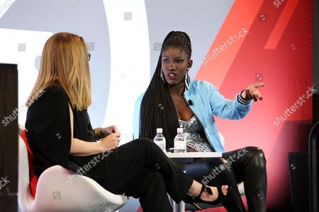 Kim Kelleher (Chief Business Officer, Conde Nast), Bozoma Saint John (Chief Brand Officer, Uber)