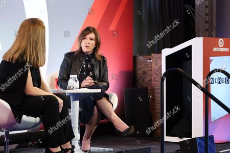 Stock Photo of Kim Kelleher (Chief Business Officer, Conde Nast), Jennifer Breithaupt (Global Consumer CMO, Citi)