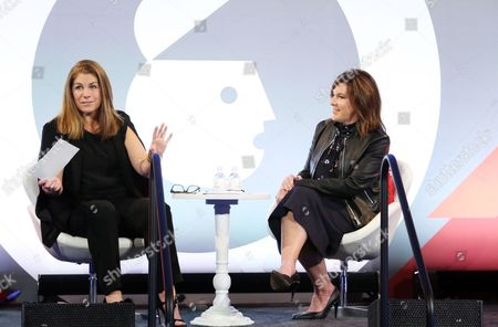 Stock Picture of Kim Kelleher (Chief Business Officer, Conde Nast), Jennifer Breithaupt (Global Consumer CMO, Citi)