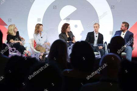 Editorial photo of Brave Storytelling: Managing Trust and Truth seminar, Advertising Week New York 2017, Shutterstock Stage, Liberty Theater, New York, USA - 26 Sep 2017