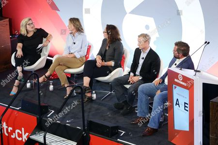 Editorial image of Brave Storytelling: Managing Trust and Truth seminar, Advertising Week New York 2017, Shutterstock Stage, Liberty Theater, New York, USA - 26 Sep 2017