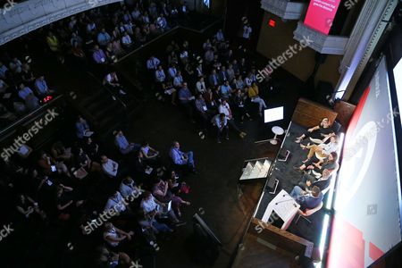 Editorial picture of Brave Storytelling: Managing Trust and Truth seminar, Advertising Week New York 2017, Shutterstock Stage, Liberty Theater, New York, USA - 26 Sep 2017