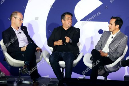 Tim Carr (Head of Social Marketing, Live Nation), Fred Gerantabee (Global VP, Digital Innovation, COTY), Josh Golden (Publisher, Ad Age)
