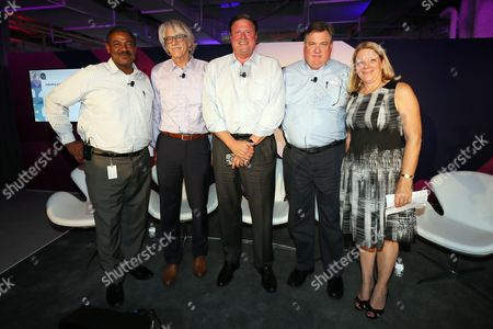 Jim Spaeth (Partner, Sequent Partners), George Ivie (Executive Director, Media Ratings Council), Jane Clarke (CEO and Managing Director, CIMM), Rick Erwin (President, Audience Solutions, Acxiom), Louis Jones (EVP, Media & Data)