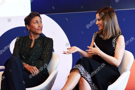Robin Roberts (Co-anchor, Good Morning America and Creator and Host of 'Everybody's Got Something' podcast), Rebecca Jarvis (Chief Business, Technology and Economics Correspondent at ABC News and Creator 'No Limits with Rebecca Jarvis' Podcast)