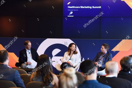 Stock Photo of Robert Palmer (Chief Innovation Officer, HCB Health), Allison Ceraso (Managing Director, Chief Creative Officer, Havas Life), Kevin McHale (Managing Director and Executive Creative Director, Neon)