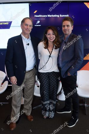 Robert Palmer (Chief Innovation Officer, HCB Health), Allison Ceraso (Managing Director, Chief Creative Officer, Havas Life), Kevin McHale (Managing Director and Executive Creative Director, Neon)