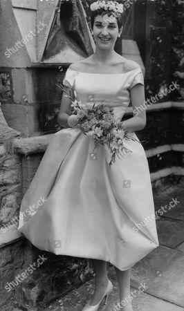 Ballet Dancer Sally Bradley On Her Wedding Day When She Married Canadian Actor Richard Brand. Box 725 81312169 A.jpg.