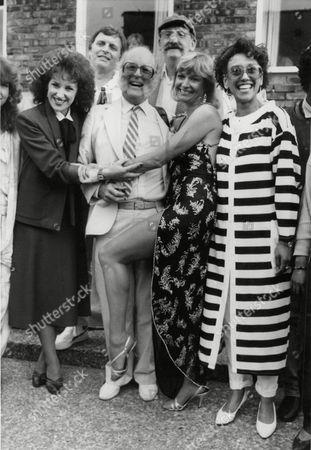 Soap Actors & Actresses (l-r) Anita Dobson Ron Magill Jean Rogers And Other Cast Members. Box 727 52501174 A.jpg.