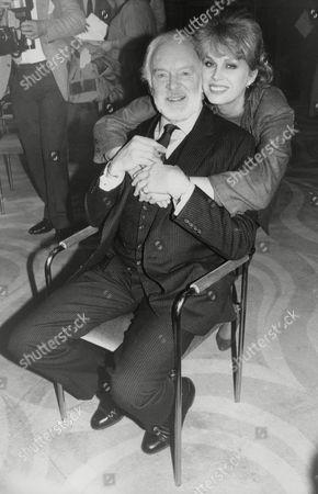 Actor Tony Britton With Actress Joanna Lumley. Box 728 813021727 A.jpg.