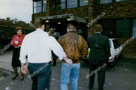 Peter Brookes (leather Jacket) Who Was Questioned By Police Over The Murder Of Schoolgirl Claire Tiltman. He Had Found The Dying Teenager As He Was Walking Home. (colin Ash-smith Was Later Found Guilty Of The Crime) Box 729 1114021733 A.jpg.