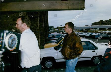 Peter Brookes (leather Jacket) Who Was Questioned By Police Over The Murder Of Schoolgirl Claire Tiltman. He Had Found The Dying Teenager As He Was Walking Home. (colin Ash-smith Was Later Found Guilty Of The Crime) Box 729 1114021732 A.jpg.