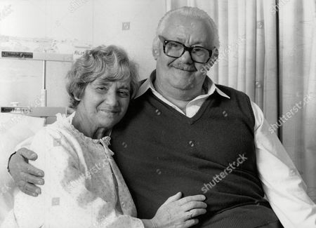 Editorial picture of Liver Transplant Patient Alice Bell With Her Husband George. Alice Is The First Person In Britain To Be Successfully Treated With A New Wonder Transplant Drug Fk506. The Anti-rejection Drug Is Still Under Trial. (for Full Caption See Version) Box 732