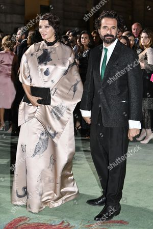 Editorial photo of Green Carpet Fashion Awards Italia, Spring Summer 2018, Milan Fashion Week, Italy - 24 Sep 2017