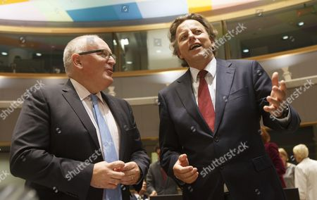 Frans Timmermans and Bert Koenders