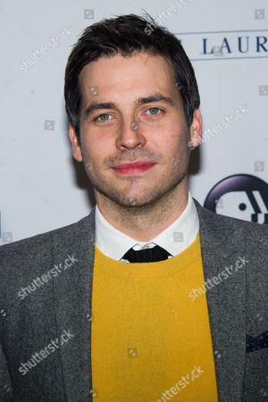 """Robert James-Collier attends the """"Downton Abbey"""" Season 5 cast photo call on in New York"""