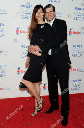 """Carol Alt and Alexei Yashin attend Smile Train's """"Power of a Smile"""" gala, at Barclays Center in New York, celebrating one million cleft repairs"""