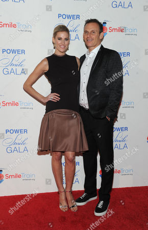 """Kristen Taekman, star of Real Housewives of New York, and her husband Josh Taekman attend Smile Train's """"Power of a Smile"""" gala, at Barclays Center in New York, celebrating one million cleft repairs"""