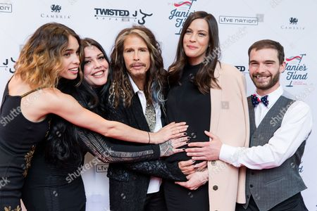 "Editorial image of ""Steven Tyler OUT ON A LIMB"" - Arrivals, New York, USA"