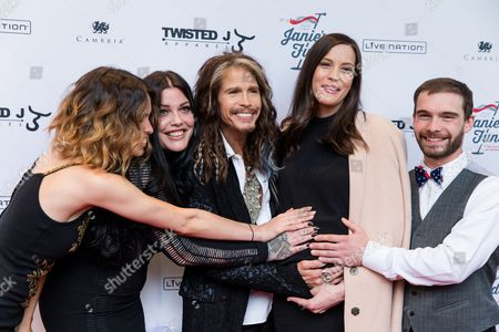 "Editorial picture of ""Steven Tyler OUT ON A LIMB"" - Arrivals, New York, USA"
