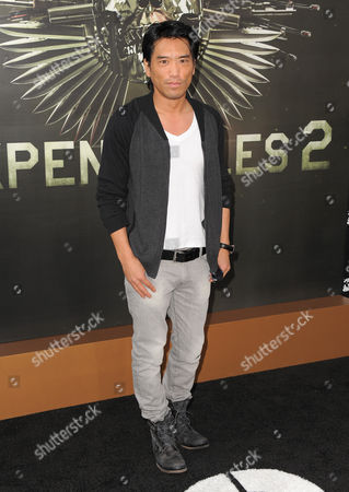 "Stock Photo of Peter Shinkoda attends the premiere for ""The Expendables 2"" at Grauman's Chinese Theatre on in Los Angeles"