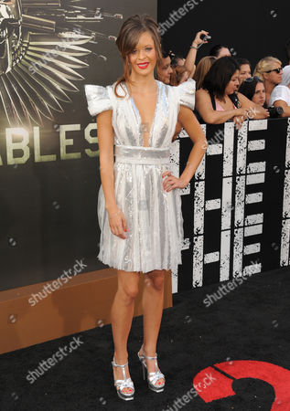 """Nikolette Noel attends the premiere for """"The Expendables 2"""" at Grauman's Chinese Theatre on in Los Angeles"""
